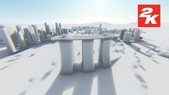 Thumbnail for 3D Singapore City View