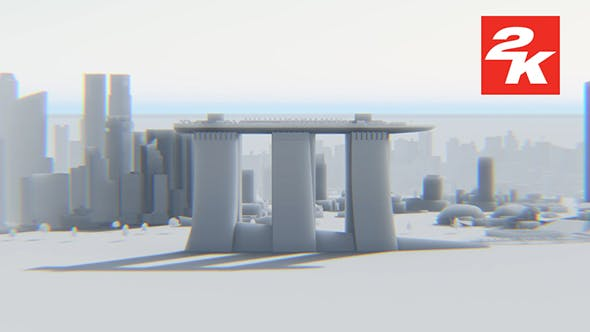 Thumbnail for 3D Singapore City View 2
