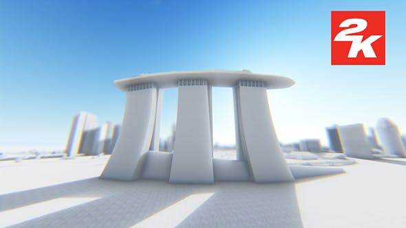Thumbnail for 3D Singapore City View 3