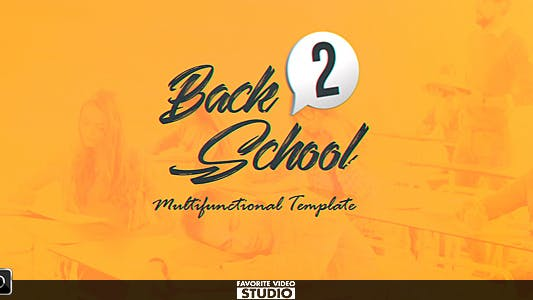 Thumbnail for Pack de diffusion Back 2 School