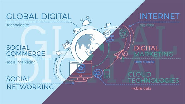 Cover Image for Global Digital World