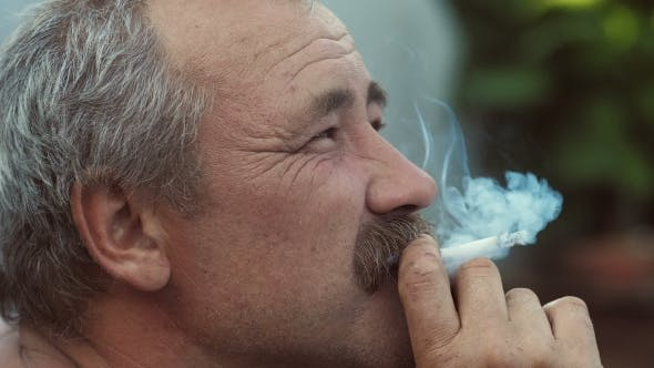 Thumbnail for Smoking Rural Man with Mustaches