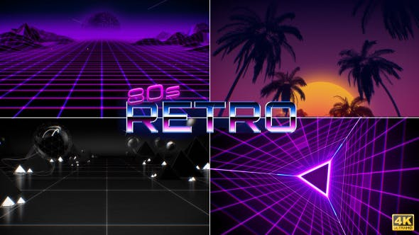 80's Retro Backgrounds