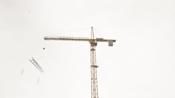 Thumbnail for Tower Crane - Rainy Day