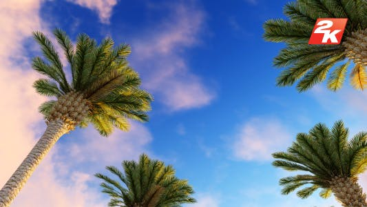 Thumbnail for Palms and Time-lapse Clouds