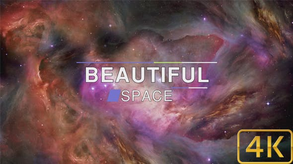 Thumbnail for Beautiful Abstract Exciting Space Nebula Background