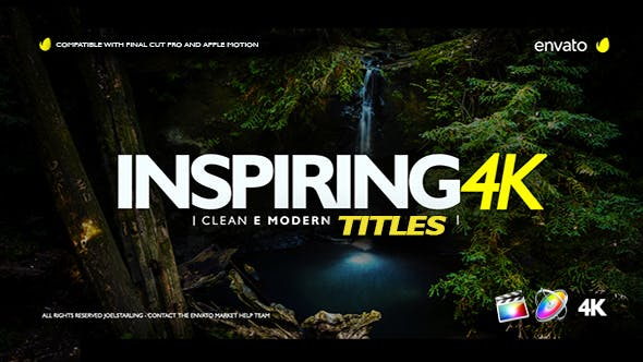 Thumbnail for Inspiring Titles For Final Cut Pro X
