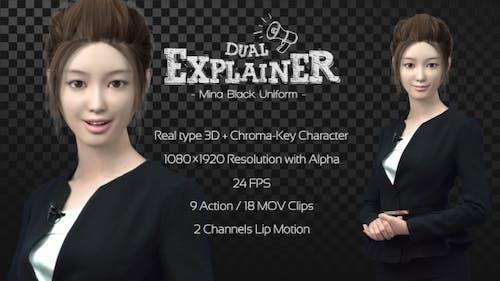 Dual Explainer Mina Black Uniform