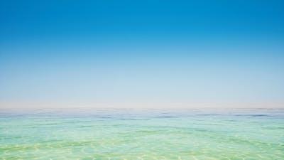 Clear Sky and Tropical Ocean