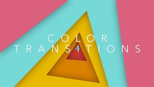 Transitions de couleurs - Été
