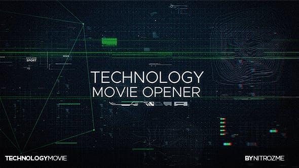 Thumbnail for Technology Movie Opener