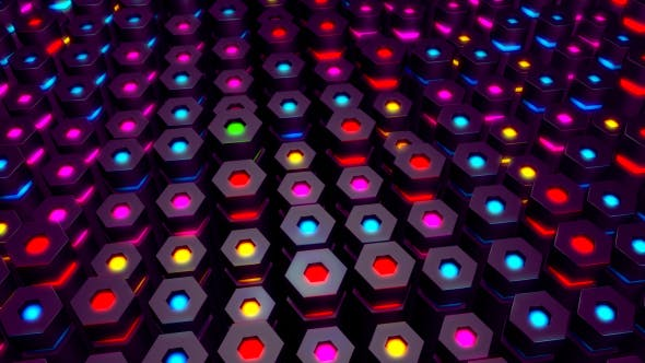 Thumbnail for Hexagon Party VJ
