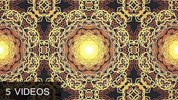 Thumbnail for Gold Kaleidoscope Pack
