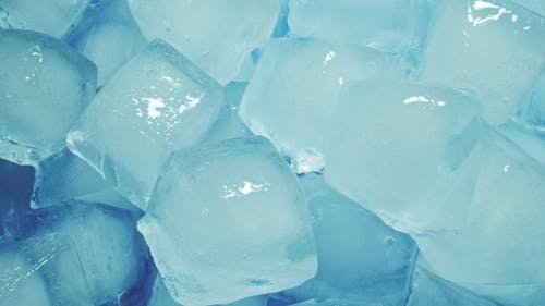 Ice Cubes Melting in