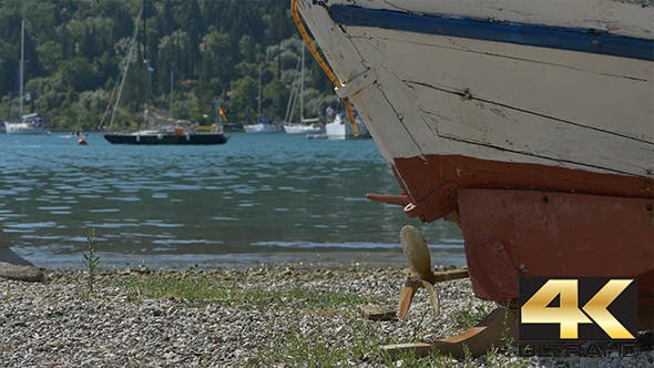 Thumbnail for Rusty Propeller of a Fishing Boat