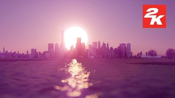 Thumbnail for 3D Sunrise Over New York 17