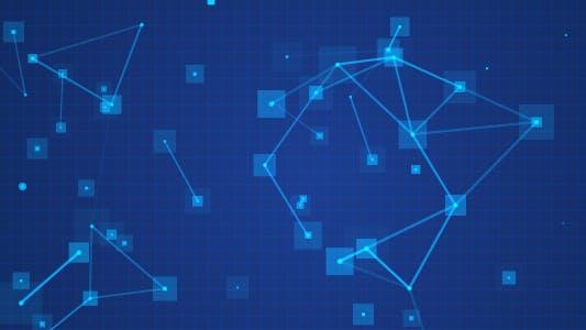 Thumbnail for Zirkulärer Netzwerkhintergrund
