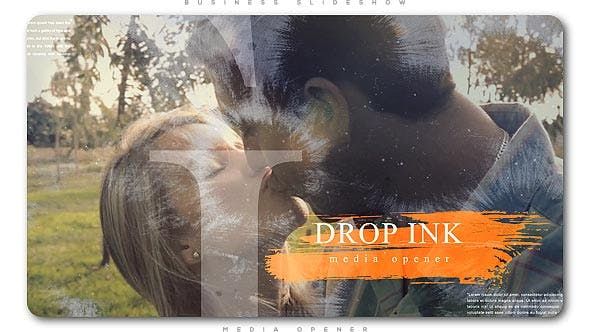 Thumbnail for Ink Drop Romantic Media Opener