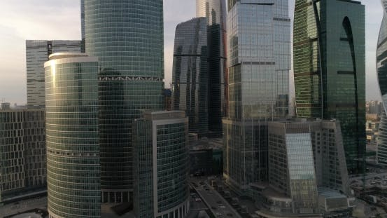 Thumbnail for Business Center Moscow City Aerial