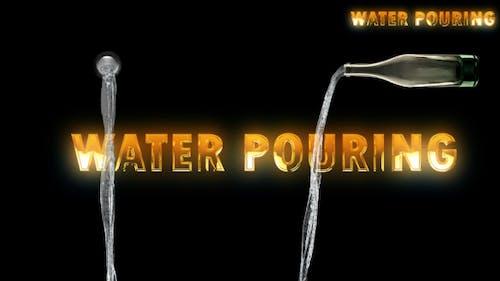 Wasser gießen