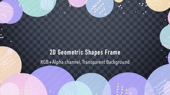 Thumbnail for 2D Geometric Shapes Frame