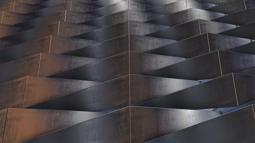 Metall Wall Structure Background