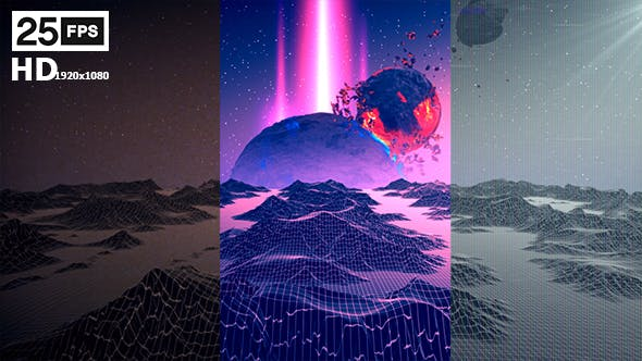 Thumbnail for Terrain Retro And VHS Pack