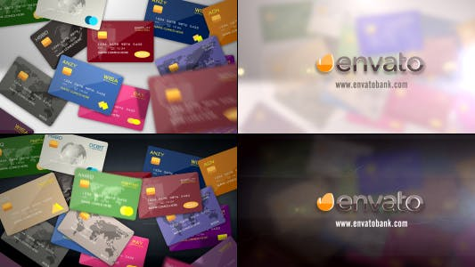 Cover Image for Credit Debit Prepaid Card Logo Reveal