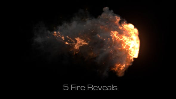 Fire Reveal Elements Pack 01