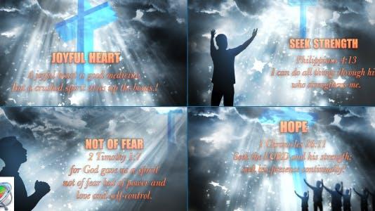 Worship Heaven Title Opener - Apple Motion