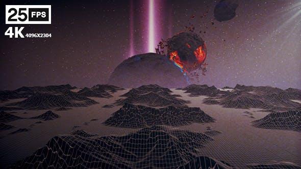 Thumbnail for Terrain 05 Retro 4K