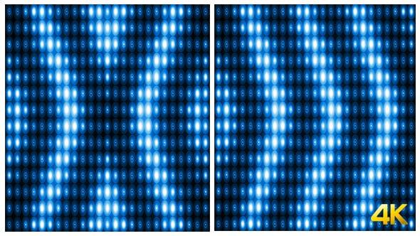 Thumbnail for Glamorous Blue Lights Vj Loop