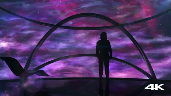 Thumbnail for Пространство с одиноким астронавтом
