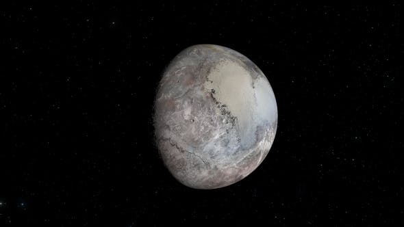 Thumbnail for Planet Pluto Background