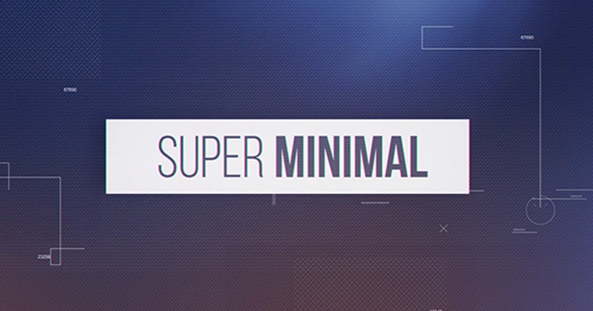 Download Super Minimal by Media_Stock