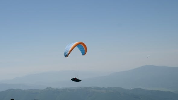 Thumbnail for Beautiful Landscape with Paraglide