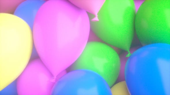 Thumbnail for Balloon Background 02