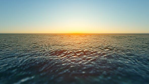 Thumbnail for Ocean Horizon Loop 4K