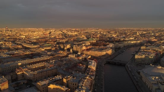 Thumbnail for The Roofs of St. Petersburg Aerial