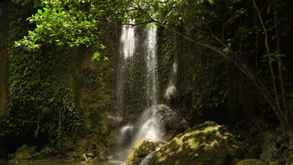 Thumbnail for Beautiful Tropical Waterfall Philippines Bohol Island