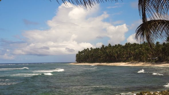 Thumbnail for Beach on a Tropical Island Philippines,Siargao