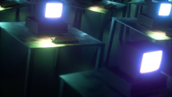 Old Creepy Computers