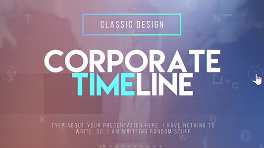 Thumbnail for Corporate Timeline