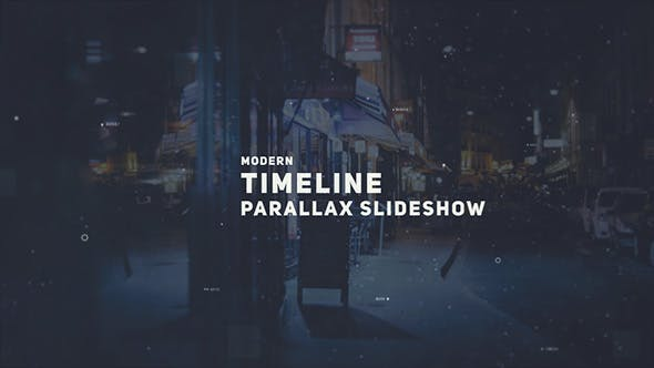 Thumbnail for Parallax Timeline Slideshow