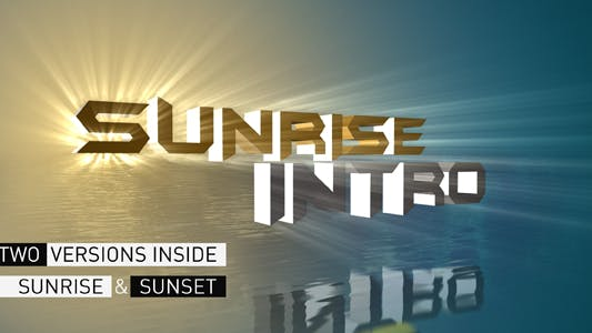 Thumbnail for Sunrise Intro