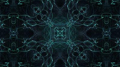 Plasma Cyan Pattern