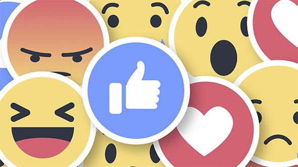 Facebook Reactions - Transitions