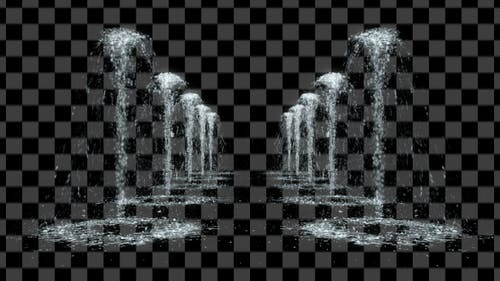 Fountains 3D Alley