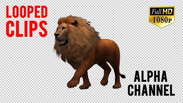 Thumbnail for 3D Lion Animation 9