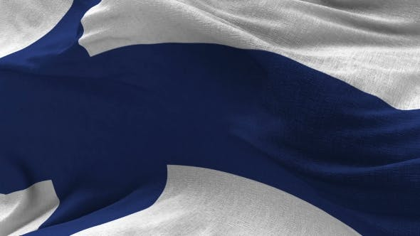 Thumbnail for Finland Flag in the Wind